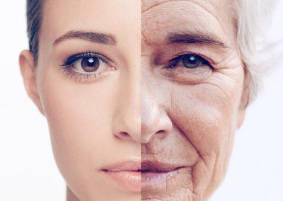 Gesichtsbehandlung mit Eigenfett